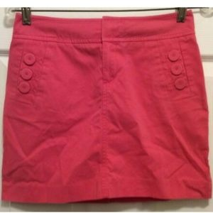 Lilly Pulitzer Skirt 0 Pink Short Slight A-Line